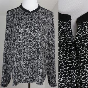5/$20 Forever 21 Tiny Square Top Loose Dress Shirt